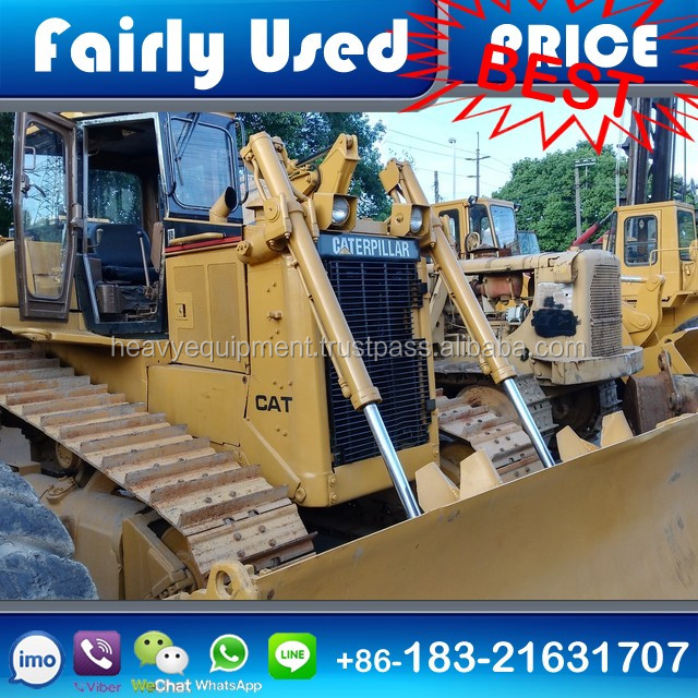 Used CAT Dozer D6R second hand CAT D6R bulldozer with Blade