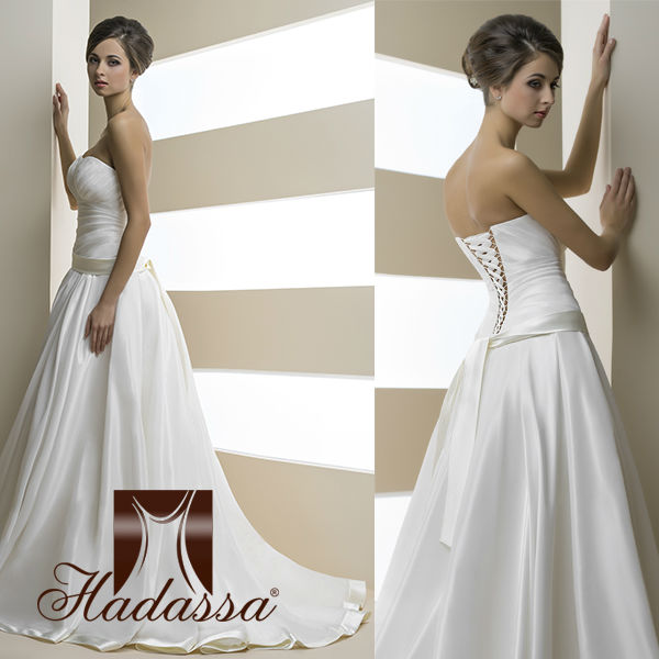 French designe Ball Gown Wedding Dress / Gown Drapery