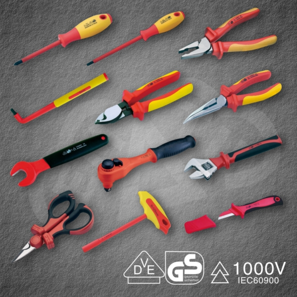 Powerful and Safe VDE Sockets 1/2 Insulated tool for industrial use, made in Japan