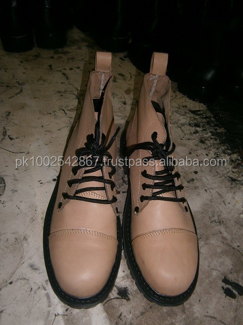 High Quality Military boot in genuine leather