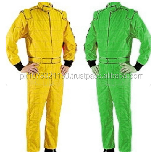Best go Kart racing suits customized embroidered logos go kart suits