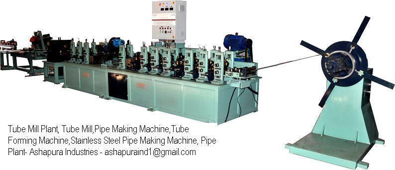 Looking commission agent for our pipe making machinery