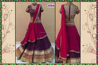 Violet Lehenga Choli -FESTIVE SEASON MOST HIT DESIGN