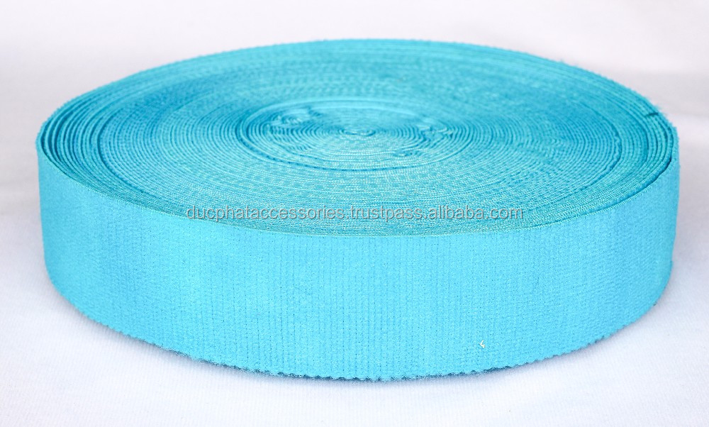 Garment accessories jacquard Elasticband for waistband