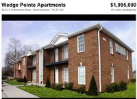 Wedge Pointe - serving university, many businesses nearby, apartment complex for investment, real estate for sale in TN, US