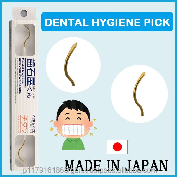 Durable and Functional dental scaler for cleaning your teeth made in Japan