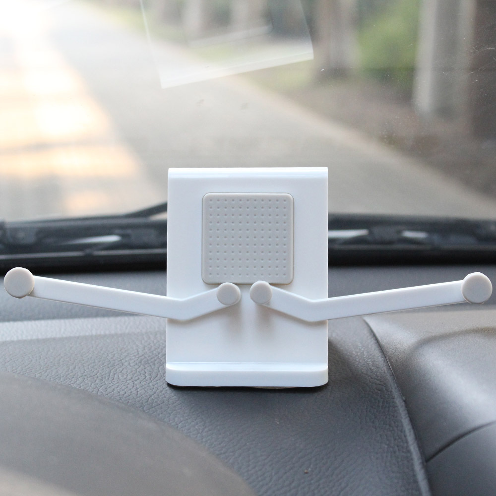 Top sale car clip mount with clamp for iphone 6 car holder