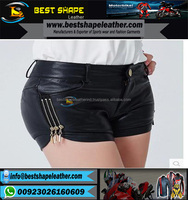 Fashion-New-font-b-Women-b-font-Sexy-font-b-Tight-b-font-Package-Hip-hop leather shorts