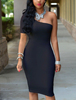 Sexy Black Bodycon Cocktail Dresses 2016 Wholesale