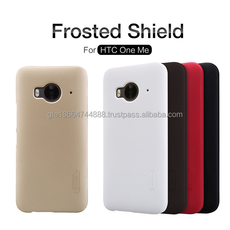 For HTC One Me accessories Super Frosted Shield Original nillkin simple style plastic phone case