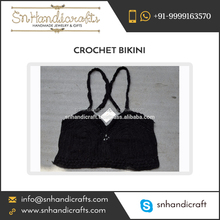Excellent Quality Sexy Crochet Knit Bikini Swimwear for Women