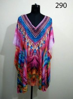 digital Printed kaftans, New Printed Kaftans,Evening Wear kaftans