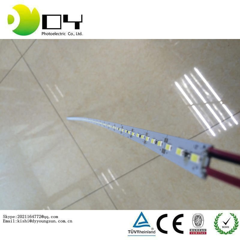 Factory Wholesale 50CM DC 12V 36 SMD 5630 LED Hard Rigid LED Strip Bar Light with U Aluminium shell +pc cover