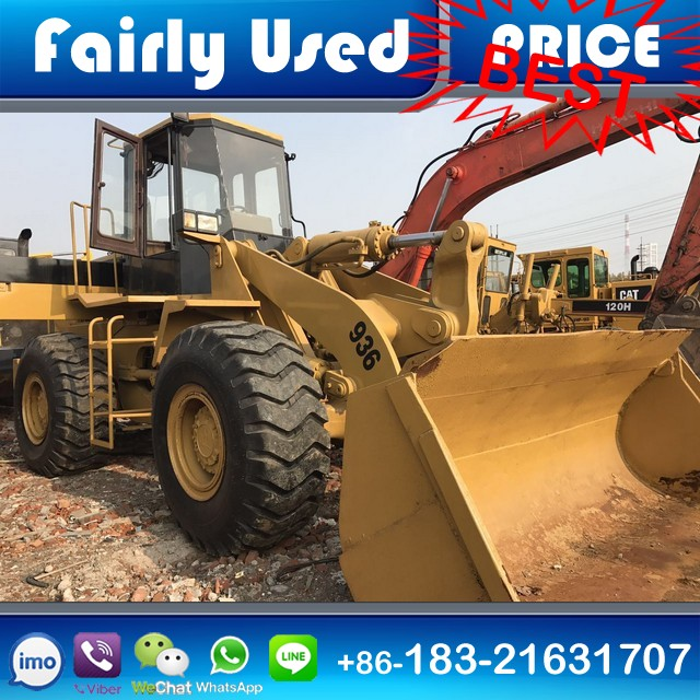 Used CAT 936E Front End Wheel Loader for sale
