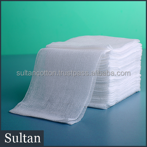 100% cotton medical equipment and supplies sterile gauze swab