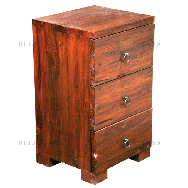 Wooden Chest with 3 Drawers Living Room Furniture