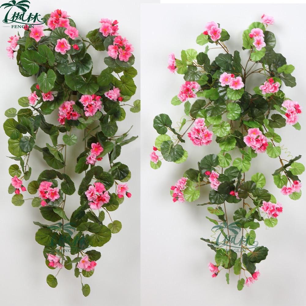 77 Cm Artificial Azalea Garland Cheap Wholesale Artificial Flowers