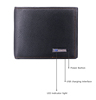 Documents bag multifunctional card ticket passport holder folder travel smart anti-lost wallet