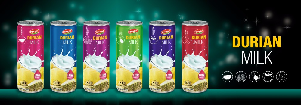 Durian milk with Watermelon flavour Soft drink factory for alu can 250ml