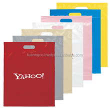 Logo printing gift plastic bag for shoping/plastic bags manufactuer