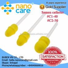 new product cattle semen silicone material insemination catheter bovine artificial inseminationn tube