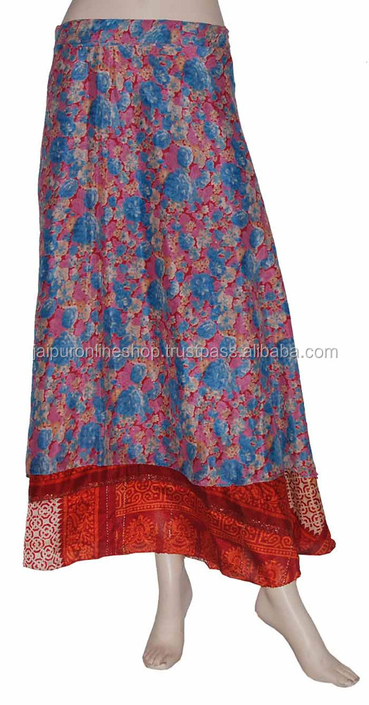 Indian Saree Silk Wrap Skirts Wholesale Australia UK USA