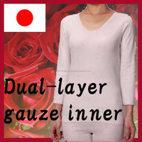 Dual-layer gauze comfortable garment fabric with thin material