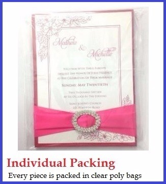 Thai Silk Wedding Invitation Box