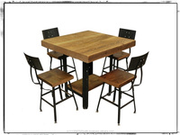 Beautiful Comfortable Industrial Dining Set