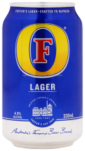 FOSTER'S LAGER BEER CAN 330ML