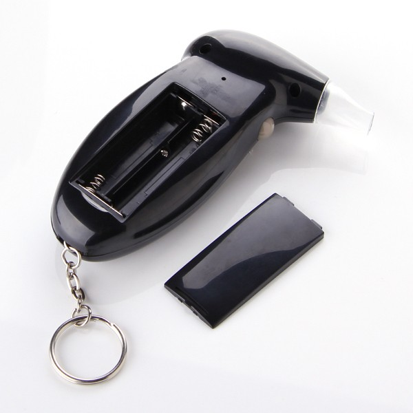 Digital LCD Backlit Display Key Chain Alcohol Tester Alcohol Breath Analyzer Digital Breathalyzer