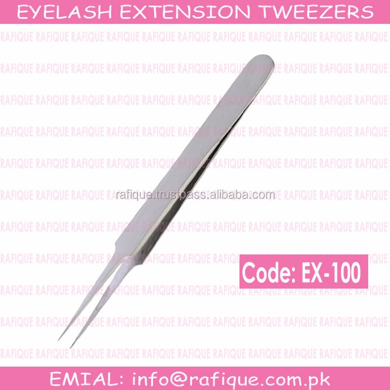 A Type Straight Tweezers for Volume Lashes / Eyelash Extension Tweezers