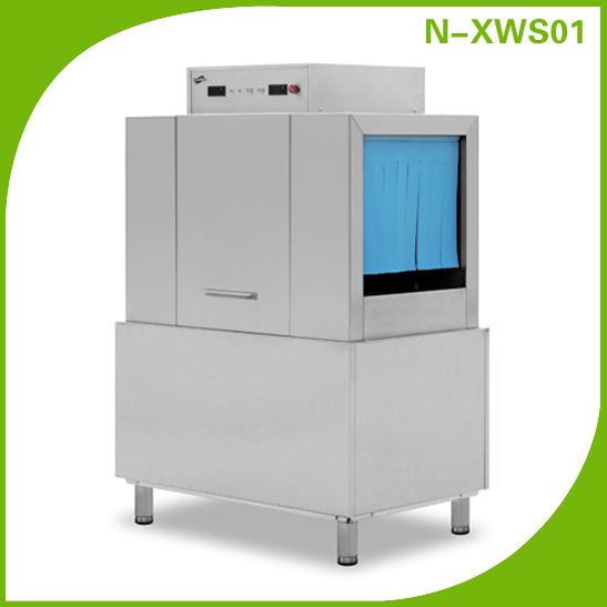 Restaurant Stainless Steel Commercial Conveyor Dish Washing Machine N-XWS01