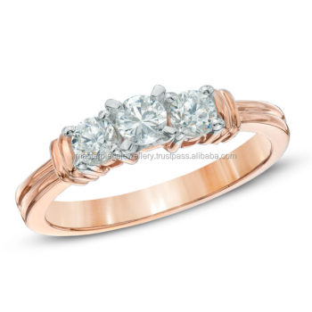 Free 1/2 CT 10K rose gold Diamond wedding ring for sale black engagement rings what rings size am i