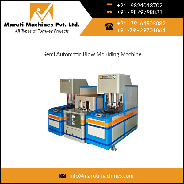 PLC/Micro Controller Based Blow Molding Machine - Semi Automatic