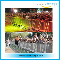 Fencing Stage Barrier Mojo Barriers Expandable Safety Barrier