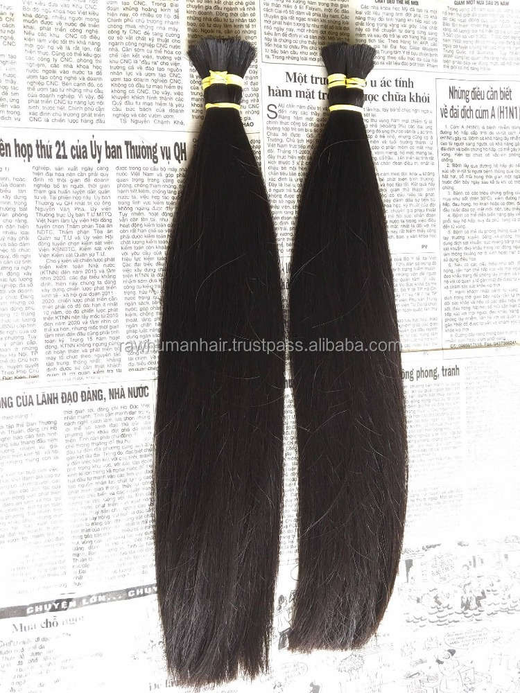 Best Sale Bulk Hair For Wig Making Virgin Remy Human Hair Extensions Hair Bulk