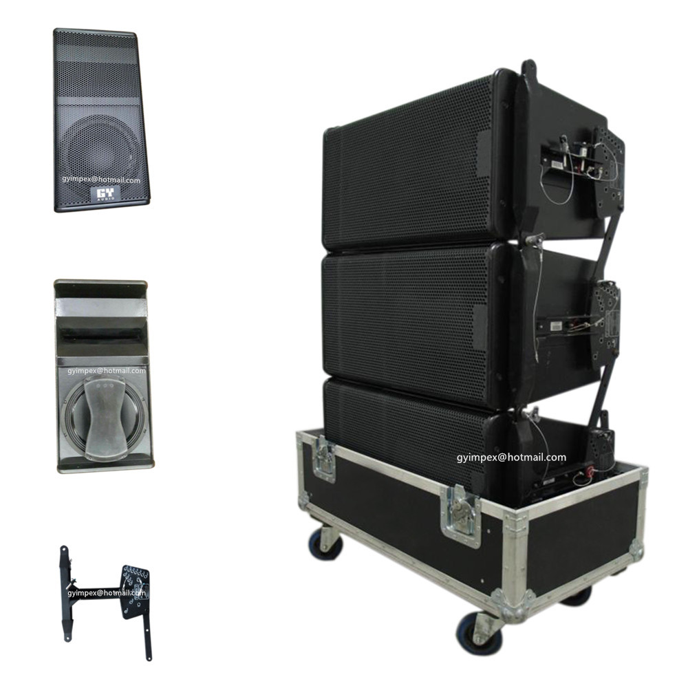 Geo s12 China designed line array speaker box, 12 inch speakers prices