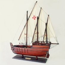 SANTA PINTA WOODEN SHIP MODEL - HANDICRAFT PRODUCT, AMAZING DECORATION