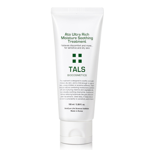 TALS Korean Moisturizing, Soothing, Relieveing, Treatment Lotion for Apopic dermatitis, Eczema, Sensitive, Dry Itchy Skin