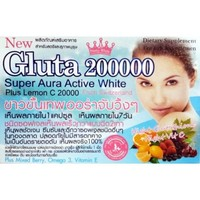 Gluta 200000 Super Aura Active White Plus Lemon C