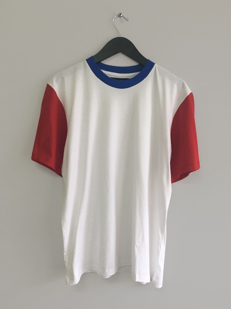 Blue Red White tee