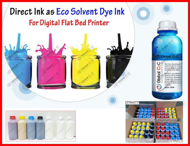 (1203) direct solvent ink for digital flatbed printer for dx5 head made in South Korea
