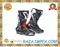 Professional Size black motorcycle boots men motorbiker pro biker boots motorcycles moto shoes racing