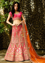indian gujrati lehenga choli - Lehenga choli designs - Latest wedding bridal lehenga choli designs 2016
