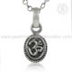 scenic Design OM Plain Silver Religious Pendant With 925 Sterling Silver Jewelry Wholesale Silver Jewelry Supplier