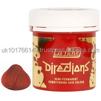 La Riche Directions Coral Red Semi Permanent Hair Dye Colour