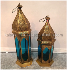 Moroccan Hurricane Candle Lantern Holder