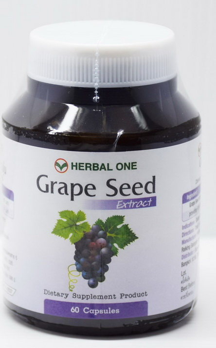Grape seed extract (Herbal One) 60 capsules