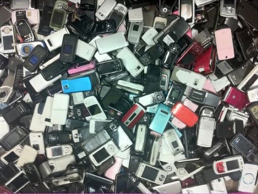 used cell phones scraps available